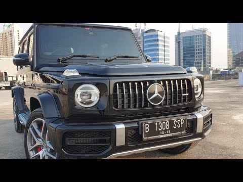 MERCEDES-BENZ AMG G 63 G CLASS 2019 Review and Test Drive | Wills AutoGarage
