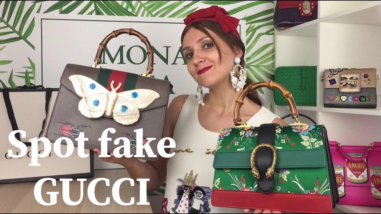 355246bf150 How to spot FAKE vs AUTHENTIC GUCCI Dionysus and Falena bamboo top handle  bag handbag purse