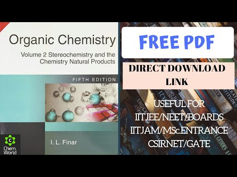 📚Book Review & Free PDF Of I.L.FINAR's Organic Chemistry Vol.2nd