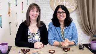 Artbeads Cafe - The Russian Spiral with Cynthia Kimura and Cheri Carlson