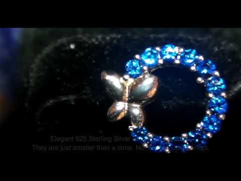 Pelisy Sterling Silver Stud Earrings for Women Review