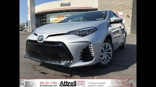 2018 Toyota Corolla SE - Brampton ON - Attrell Toyota