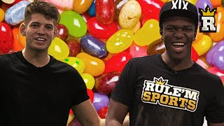 KSI and JMX Beanboozled Penalties IRL!  | Rule'm Sports