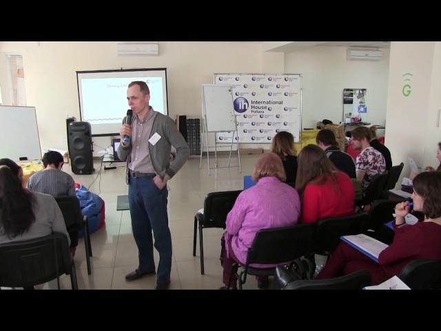 The Best of Both Worlds: A case of teaching a mixed IELTS/TOEFL group Vladyslav Bondarenko