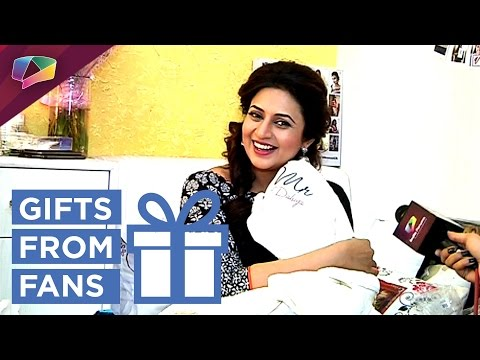 Divyanka Tripathi Receives Gifts From Fans