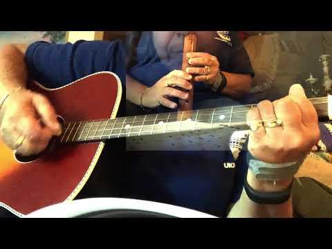 Wayfarying Stranger Tenor Guitar and NA Flute