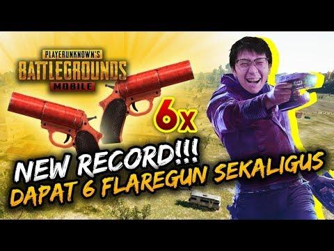 GILA! DAPAT 6 FLARE GUN SEKALIGUS! NEW RECORD!  - PUBG Mobile Indonesia