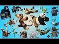Kungfu Panda Wild Animals Names and Sounds | Animals Names Learning Video For Children