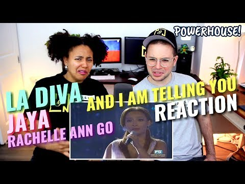 Jaya & Rachelle Ann Go & La Diva - And I Am Telling You I'm Not Going | REACTION