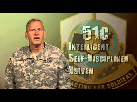 Army Brig. Gen. Jeffrey Gabbert on 51 Charlie Contracting Soldiers