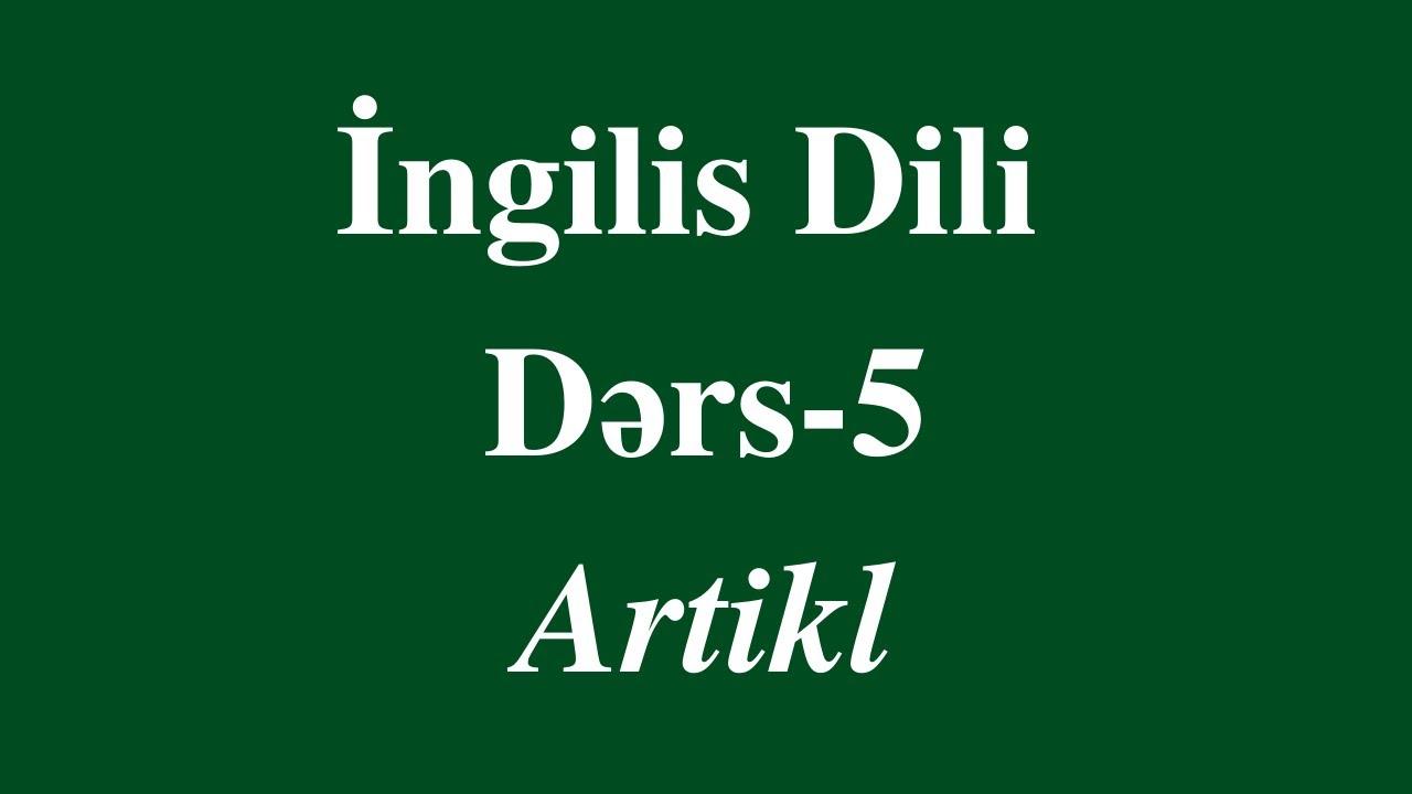 İngilis dili Fonetika/ Phonetics. Dərs 1