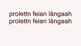 Trackshittaz - Prolettn Feian Längaah Lyrics / Songtext