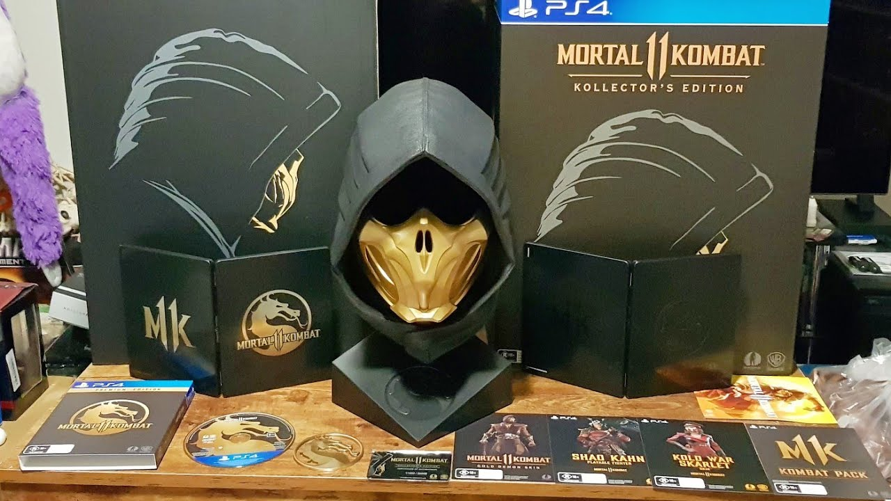 Unboxing Mortal Kombat 11 Kollector S Edition 499aud Youtube