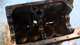 Совершенно потрясающая разборка и чистка двигателя.