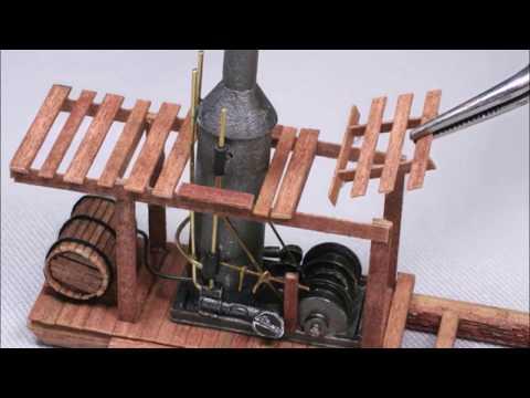 Building A Steam Donkey Yarder Kit