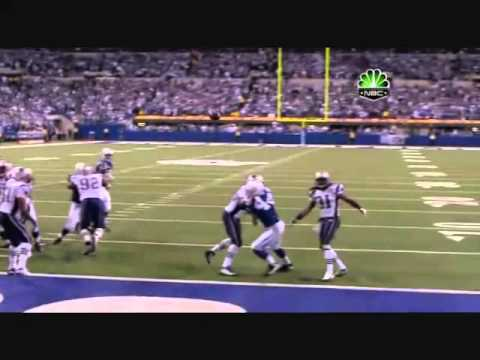 Colts vs patriots 2009 last 4 minutes