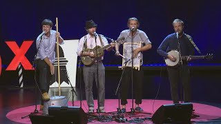 Whiskey and swiss cheese   Mr. Marble's Puddle Stompers   TEDxBasel
