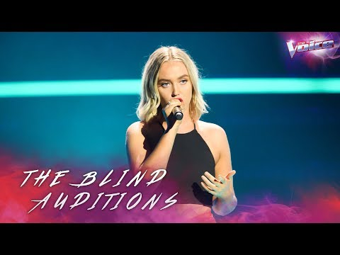 Blind Audition: Jordynne Emmett sings Scared To Be Lonely | The Voice Australia 2018