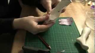 FDS Tutorial: Making a pattern for boots (open toes and heels)