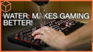 COMPLETELY Spill-proof! - Corsair K68 Mechanical Keyboard