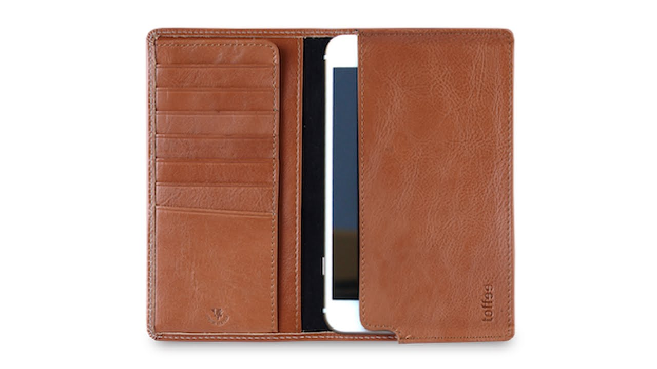 on sale 52b37 33faa Toffee Cases Sleeve Wallet for iPhone