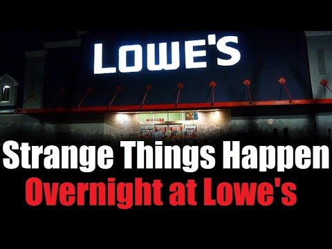 """Strange Things Happen Overnight at Lowe's"" Full Version  Creepypasta"