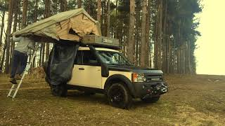 Land Rover Discovery 3, CAMPER TERENOWY