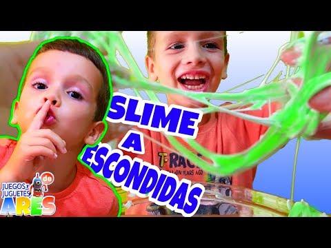 SLIME con la mano amiga/ JUEGOS Y JUGUETES DE ARES
