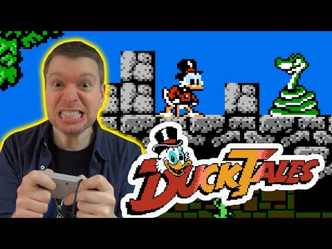 Ducktales NES Video Game Review  S5E1 | The Irate Gamer