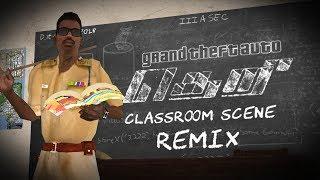 GTA San Andreas - Theri - Classroom Scene Remix