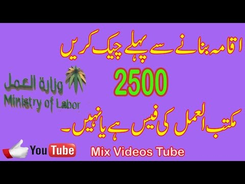 How To Chack Maktab Amal Paymet Paid Or Not Paid On Your Iqama in Saudia Urdu/Hindi