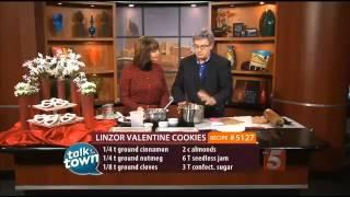 Talk Of The Town Holidays: Recipe #5127: Valentine Linzor Cookies