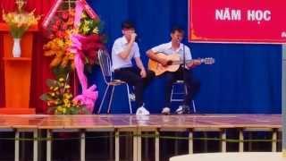 Nụ cười còn mãi ( LIVE )_ Châu Đạt ft. Phan Đạt _ NGT.SCHOOL