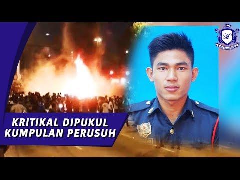 Anggota Bomba Muhammad Adib Dipukul Perusuh Kuil Seafield