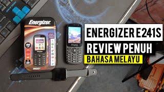 Energizer E241S - Telefon lama tetapi lebih pintar RM199 (REVIEW + UNBOXING + KAMERA TEST)