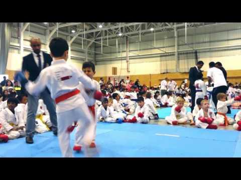 10th Annual Emirates Clubs Karate Championship 2017 at Cranleigh Abu Dhabi