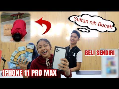 Bocah Nekat Beli IPhone 11 Pro Max 512 GB Sendirian Bayar Cash !