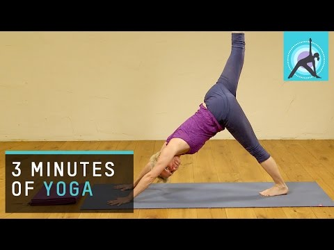 Just 3 Minutes of Yoga