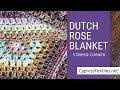 Dutch Rose Blanket CAL Part 4 - Striped Corner