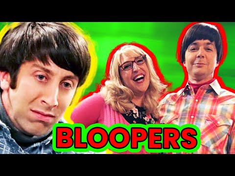 The Big Bang Theory Bloopers |🍿 Ossa Movies