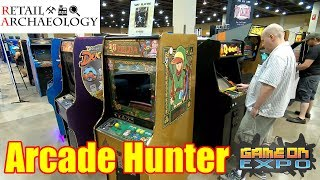 Arcade Hunter: Game On Expo 2018 | Retail Archaeology