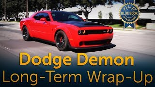 2018 Dodge Demon - Long-Term Wrap-Up