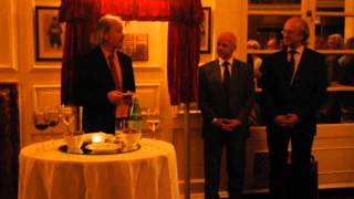 Stuart Conquest speech at unveiling of Zukertort plaque, Simpsons, 23 August 2012