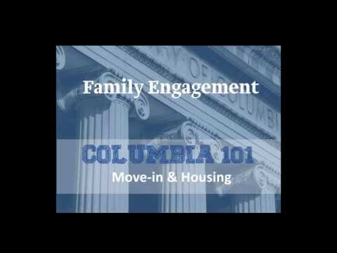 COLUMBIA 101 Webinar: Housing and Move in