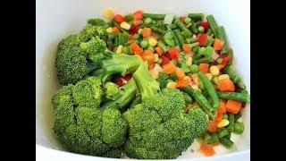 Готовим брокколи и замороженные овощи в термосервирователе от Тапервер