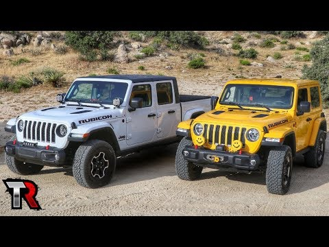 Jeep Gladiator vs. Wrangler Off-Road - Which One is Better?