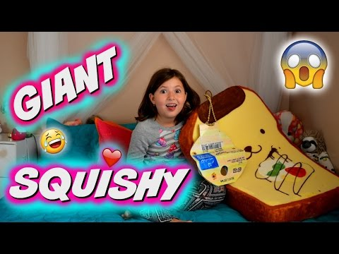 [News] THE BIGGEST SQUISHY IN THE WORLD!!! Squishy DIY Sedona Fun Kids TV ? buzzpls.Com