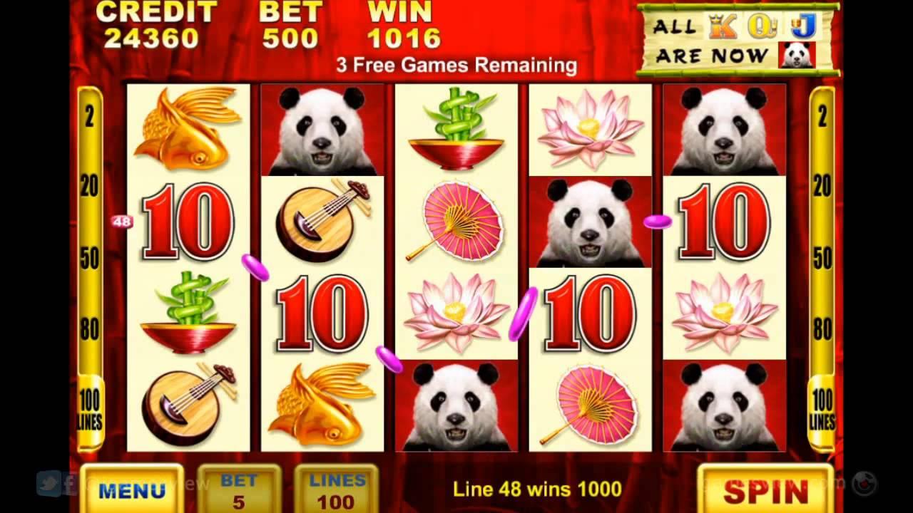 Panda Slot Machine Games