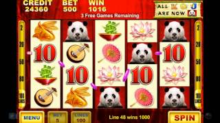 Wild Panda Casino Slot Game - iPhone & iPad Gameplay Video | HD