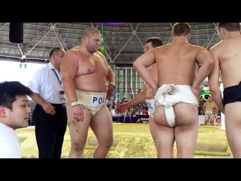 POL vs USA Teams Sumo World Championships 2015